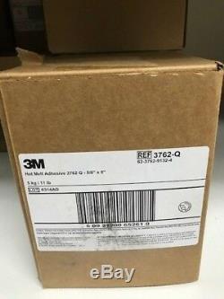 Hot Melt Adhesive, Tan, 5/8 x 8 In, PK165 3M 3762 Q