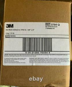 Hot Melt Adhesive, Tan, 5/8 x 8 In, PK165 3M 3764 Q New