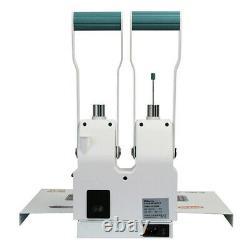 Hot Melt Financial binding machine bill voucher punching and binding machine