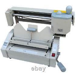 Hot Melt Glue Binder A4 Book Binding Machine Stainless Steel 180 Books/Hour 110V