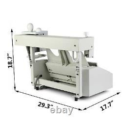 Hot Melt Glue Binder Book Binding Machine 160 books/h Digital WithFree Pellet 110V