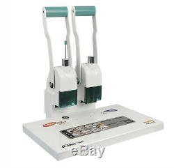 Hot Melt Rivet Tube Binding Machine Financial Vouchers Paper Book Binder 220V