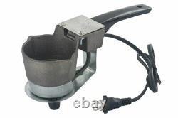 Hot Pot II Cast Iron Pot Melter Pour Lead Melting Mold Casting Lure Building