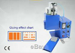 Hot melt machine temperature adjustable, adhesive spraying machine