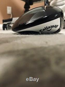 MAVRIK MAX Callaway Customs 9 Driver, HOTMELT, VA Shafts NEMESYS 65 four 45.25