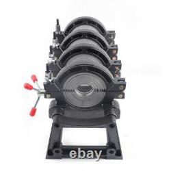 Manual 4 Rings Pipe Fusion Welder Soldering PE HDPE Piping Hot Melt Machine USA