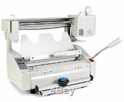 Manual 4 in 1 HOT MELT GLUE BOOK BINDER PERFECT BINDING MACHINE A4 SIZE 220V E