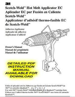 NEW 3M Scotch-Weld Hot Melt Applicator EC Polygun with 5 Temp Modules NICE