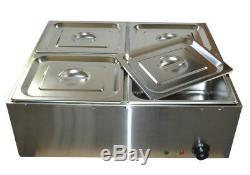 NEW 4 Pans Chocolate Melting Pot Digital Display Chocolate Melting Furnace 110V