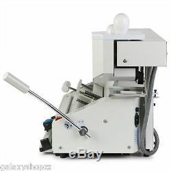NEW 4 in 1 HOT MELT GLUE BOOK BINDER PERFECT BINDING MACHINE A4 SIZE 220V