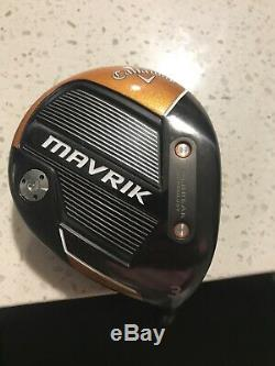 NEW! Callaway Mavrik 3 wood with Hot Melt Headcover included. Choose your grip