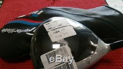 NEW Tour Issue TaylorMade M3 8.5° Driver HEAD ONLY HOTMELT Adapter Specs M5 M6
