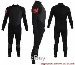 N. C. W. Full winter steamer 5/3 surf wetsuit. GBS hot melt taped seams. Any Size