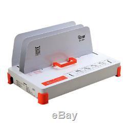 New 220V Hot Melt Binding Machine Electric Book Binder 320X50mm for A3 A4 A5 A6