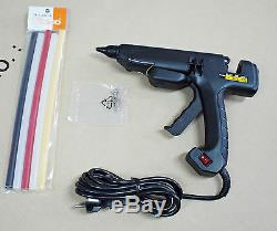 New EXSO Quick & Powerful Hot Melt 220V 200W Glue Gun plus Color Sticks Korea