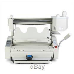 New Hot Melt Glue Book Binder Perfect Binding Machine 110v