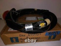 New Nordson 8' Hot Melt Adhesive Hose Model# 297883B, Round Plug