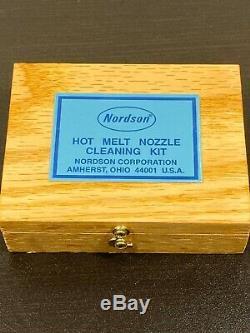 New Sealed Nordson Hot Melt Nozzle Cleaning Kit