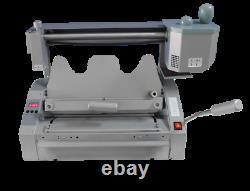 New Wireless A3 Book Binding Machine Hot Melt Glue Book Paper Binder 110V/400W