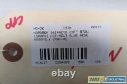 Nordson 1014421B 240v-ac 20ft 572w 1500psi Hot-melt Glue Hose