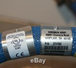 Nordson Hot Melt 274792 Glue Heated Hose 6 FT 240V NEW