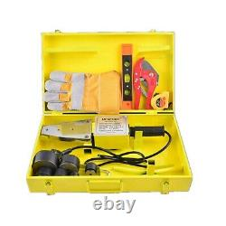 PPR Electronic Hot Melt Welding Machine Water Plastic Pipes Fusion Splicer 1500W