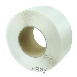 PP Transparent Color Hot Melt Plastic Automatic Packaging Belt Bundle 90.6mm