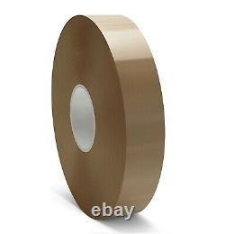 Packing Tape Brown Hotmelt Machine Packaging 1.85 Mil 40 Rls 3 Inch x 1000 Yard