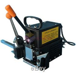 Portable Electricity Hot Melt Baling Press Manual Packing Machine Plastic Tape