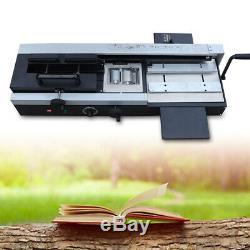 Pro A4 Book Binding Machine Hot Melt Glue Book Paper Binder WD-40A 110v Quiet