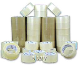 StarBoxes 2 x 110 Yds, 2.5 Mil, 36 Rls/cCs, Clear Hotmelt Tape