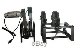 TECHTONGDA 110V Pipe Fusion Hot Melt Machine PP PE Piping Welder SolderingSealer