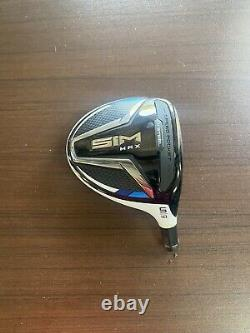 TOUR ISSUE! NEW TaylorMade SIM MAX 18 5-WOOD HEAD ONLY HOT MELT RH