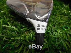 TaylorMade 2016 M2 3HL 16.5° 3 fairway wood TOUR ISSUE 74SBF2Z6 hot melt port