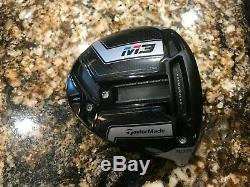 Taylormade M3 460 10.5 Driver Head Only R/h 197 Gr. Hot Melt New Cover Tool