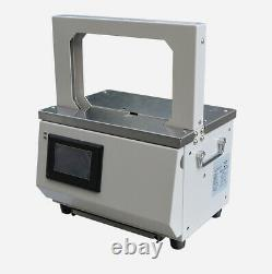 Touch Screen Opp Hot Melt Automatic Strapping Machine For Supermarket Vegetable