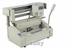 USA A4 Book Binding Machine Hot Glue Book Binder +10LBS Hot Melting Glue Pellets