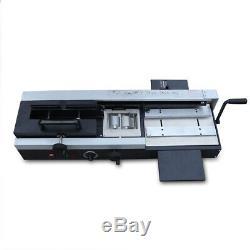 WD-40A 1200W A4 Desktop Hot Melt Glue Binding Machine Lastic Binding Machine NEW