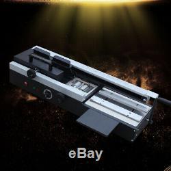 WD-40A A4 Book Binding Machine Hot Melt Glue Book Paper Binder Wireless 110V