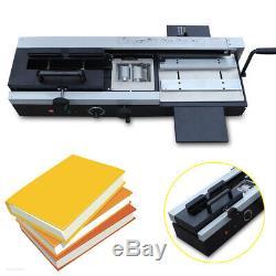 WD-40A Desktop Plastic Binding Machine Hot Melt Glue Book Paper Binder Office