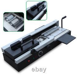 WD-40A Desktop Plastic Binding Machine Wireless Hot Melt Glue A4 Book Binding US