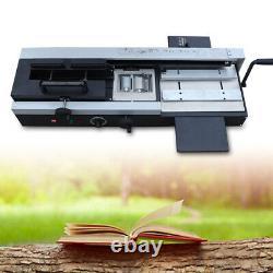 Wireless A4 Book Binding Machine Hot Melt Glue Book Paper Binder Puncher US