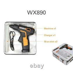Worx 4v Melt Hot Glue Gun Wx890 Electric Glue Gun Rechargeable Wireless Repair T