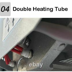 110v A4 Size Livre Reliure Machine Livre Binder + 6lbs Colle De Fusion Chaude Pellets Us