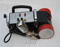 110v Us Ca Lc-3000a Bannière Soudeur Machine-pvc Pp Pe Automatique Thermofusibles De Soudage
