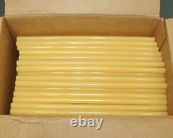 (154) Bâton De Colle De Fusion Chaude 3m 3762 Ae, 1/2 X 12 L, Pour Carton, Mousse, Bois