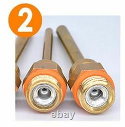 18pcs Buse Borge Gun Copper Long Short Wrench Gum Cover For Hot Melt Stick