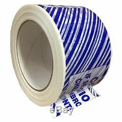 1,9 MIL Inviolable Carton D'étanchéité Thermofusible Bande 3 X 110 Casse 24 Rouleaux