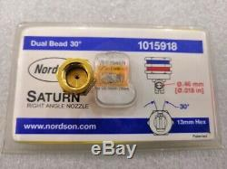 1pc New Nordson Hot Melt Machine À Double Trou Buse 1015918
