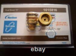 1pc Nouvelle Machine De Fusion Chaude Nordson Buse Double Trou 1015816